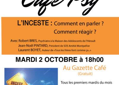GAZETTE CAFE – L'INCESTE – 2 octobre 2018